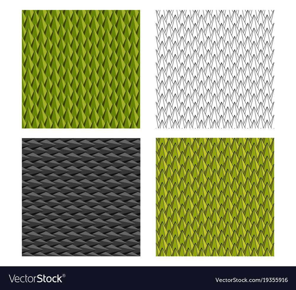 Seamless durian and animal scale pattern