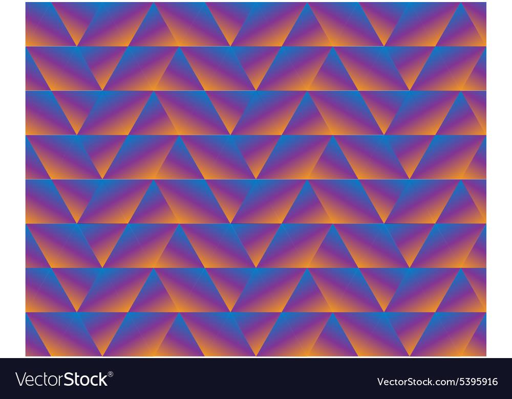 Triangle geometric dark seamless background