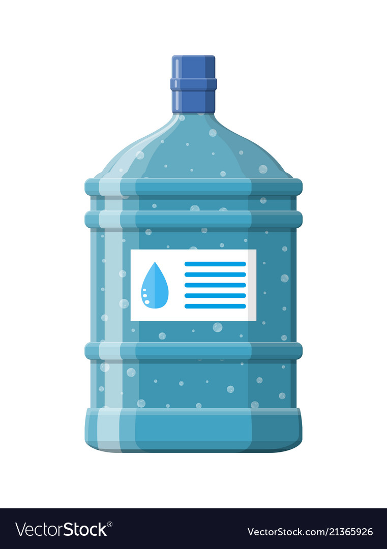 Big bottle with clean water for cooler