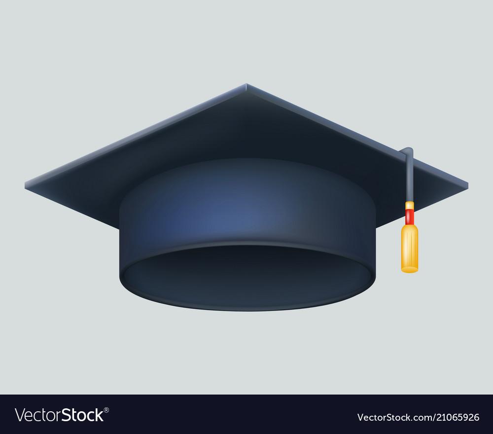 Graduation cap excellent diploma student genius