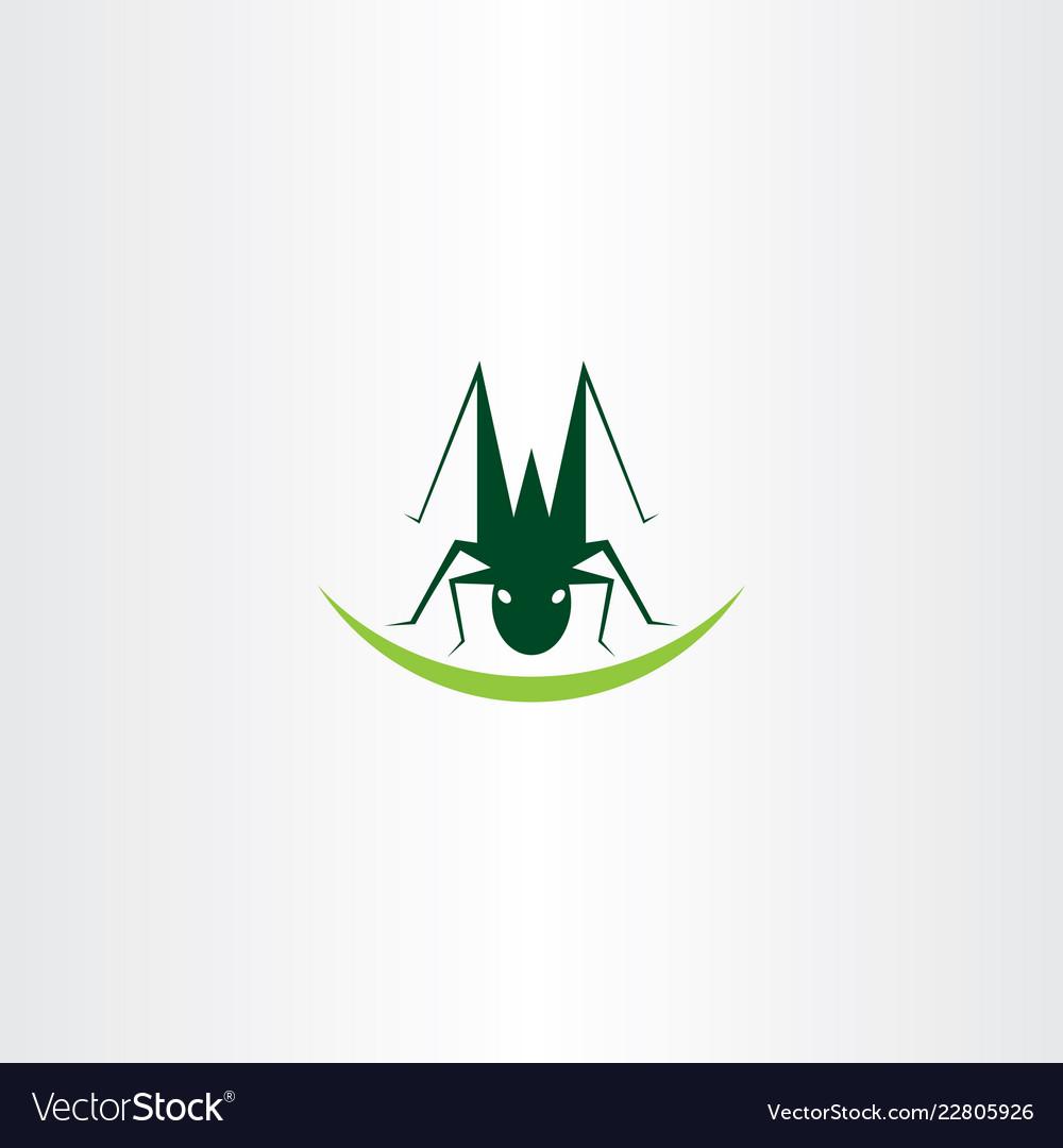 Grasshopper logo icon element symbol