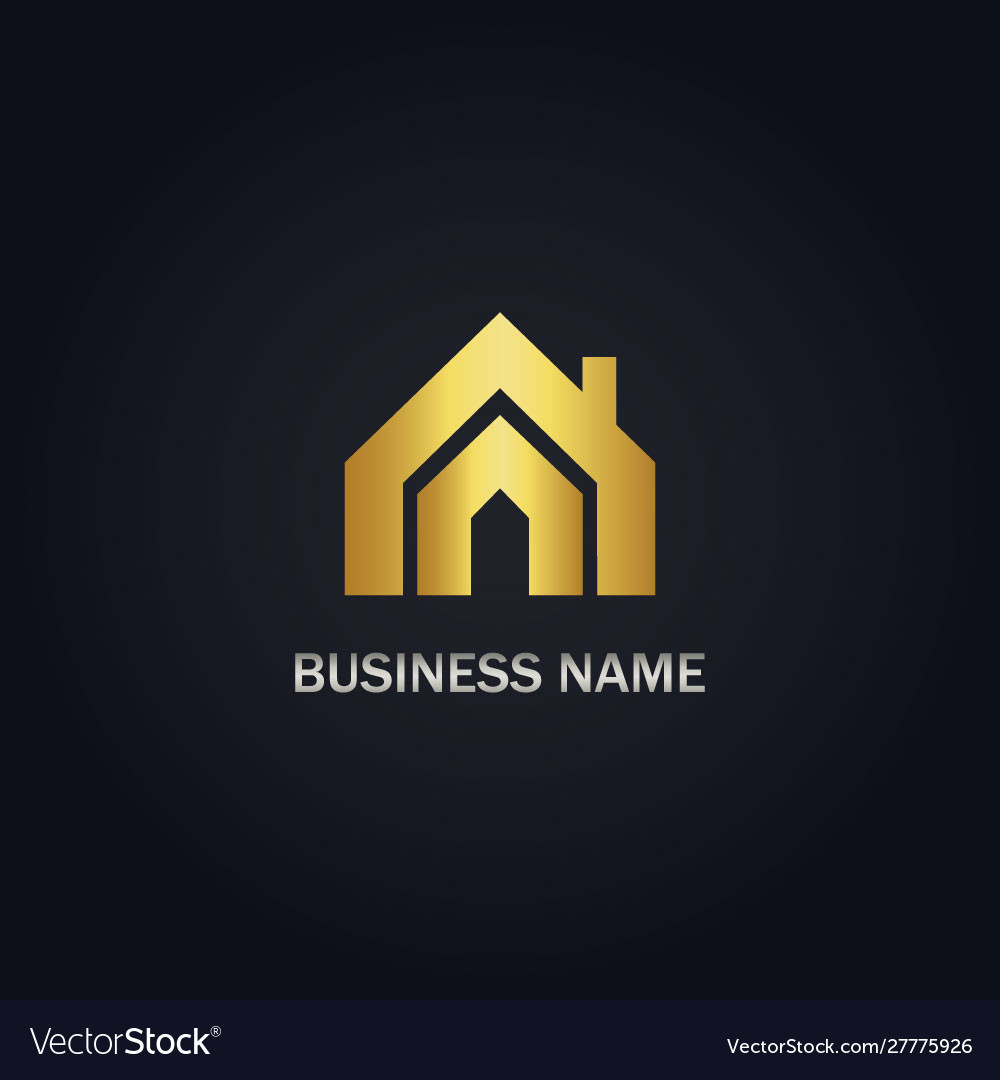 House realty gold logo