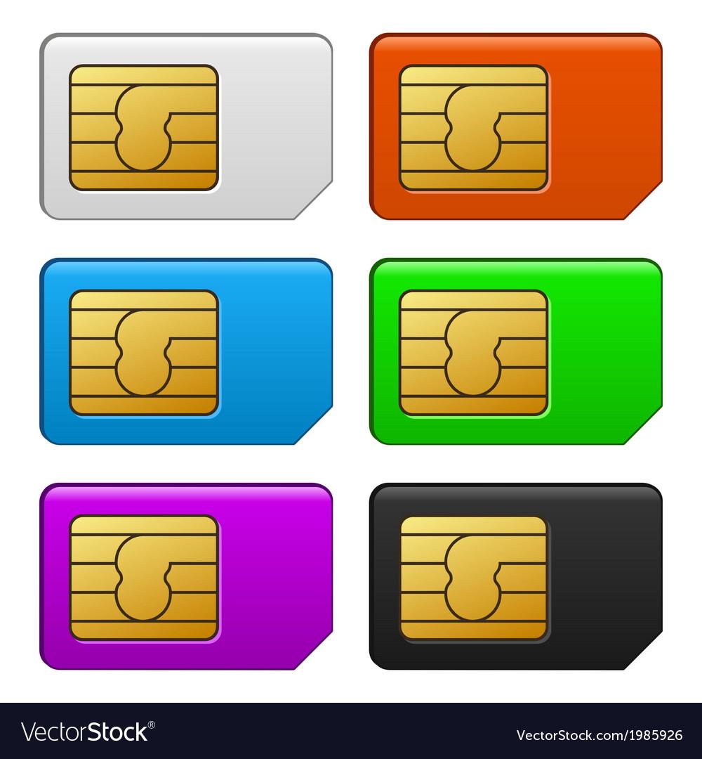 Sim Card Color Set
