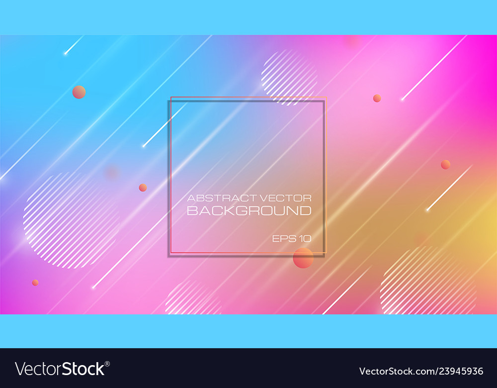 Abstract colorful background with geomatric shapes