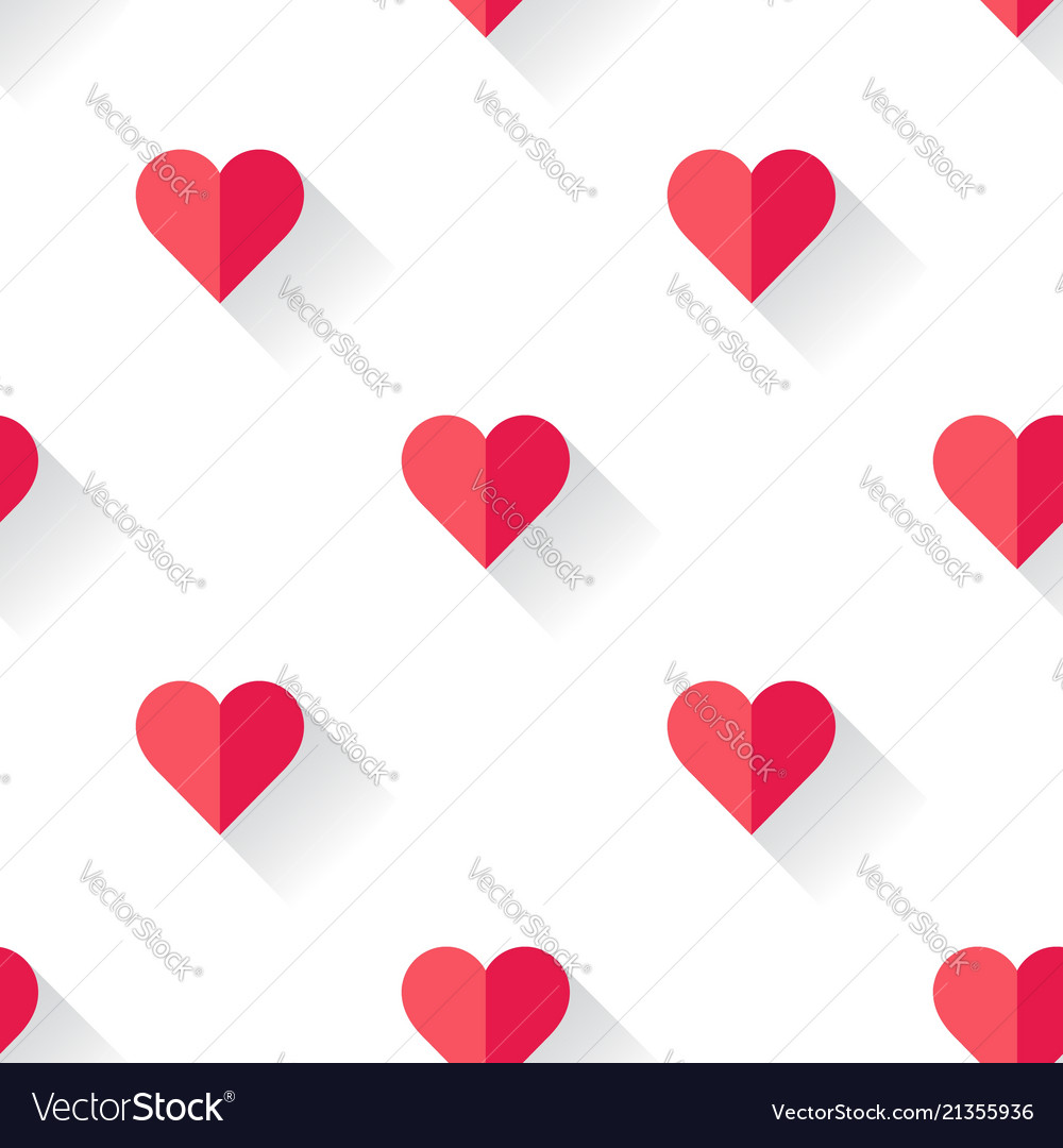 Abstract valentines heart pattern