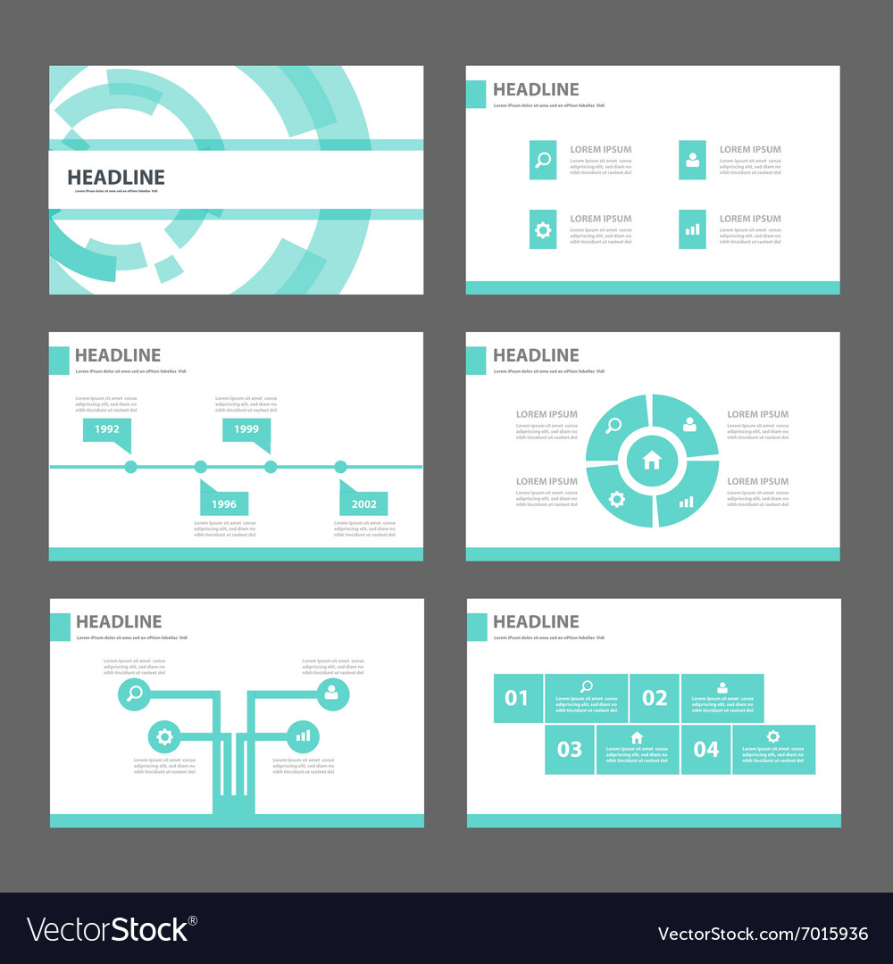 Blue Technology presentation templates Infographic