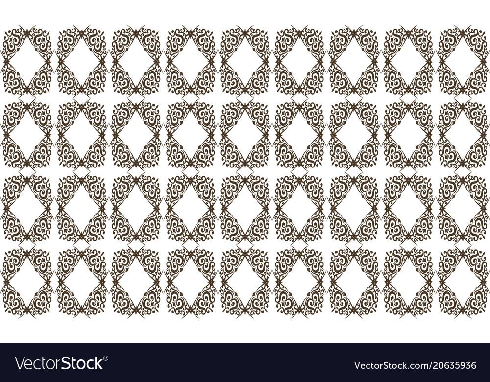 Template pattern motif