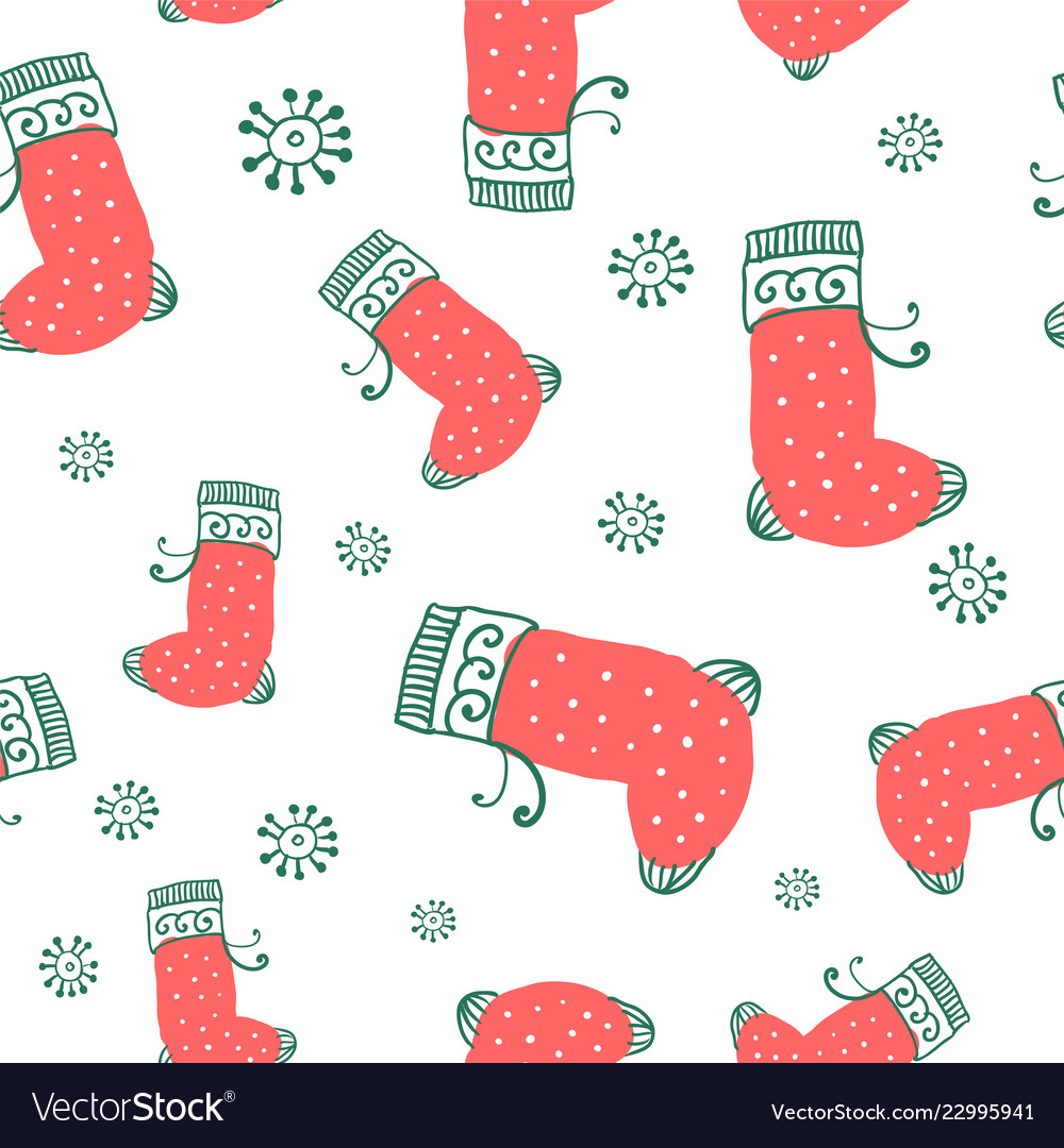 Abstract wrapping paper seamless pattern
