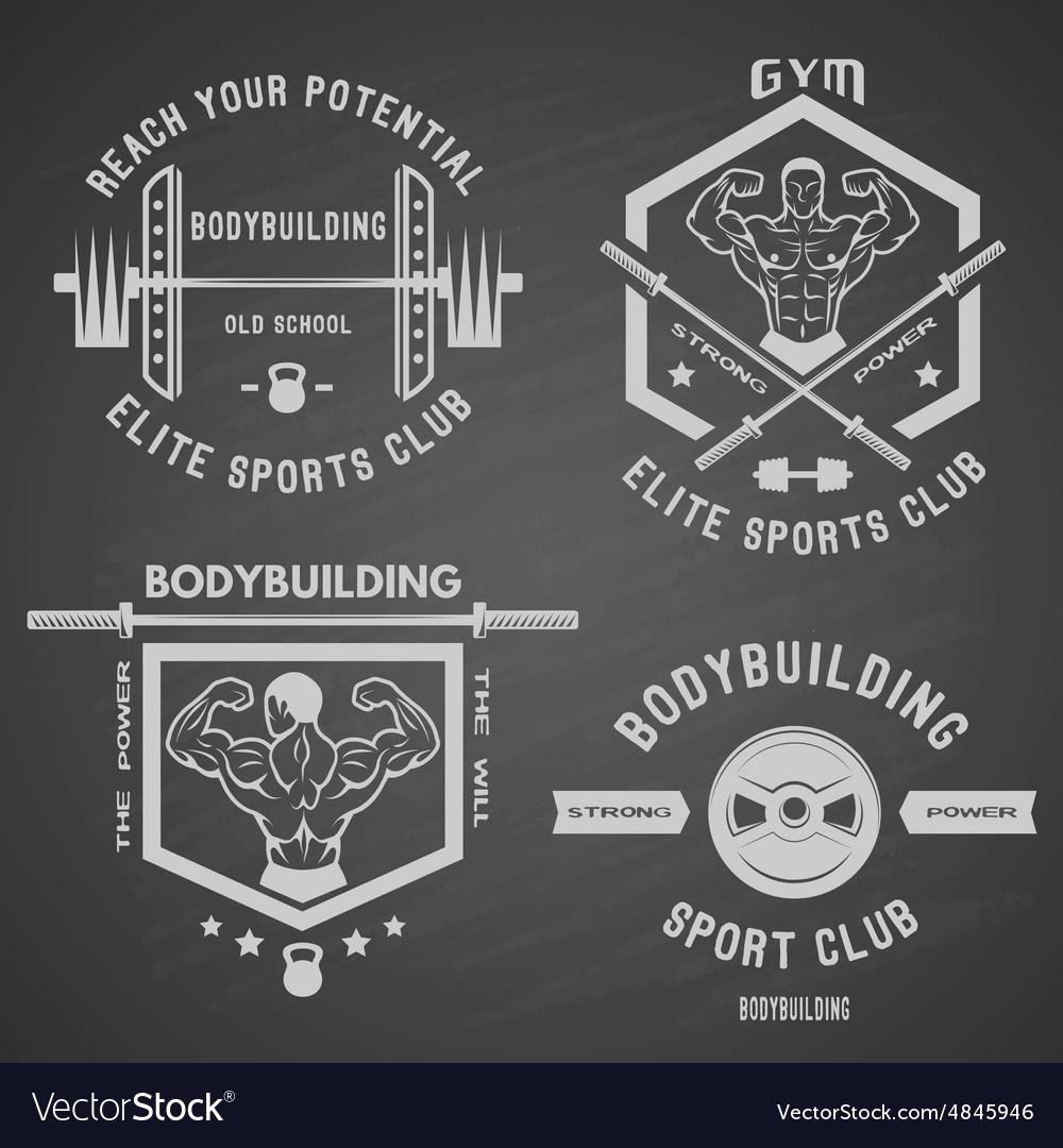 Bodybuilding white label set