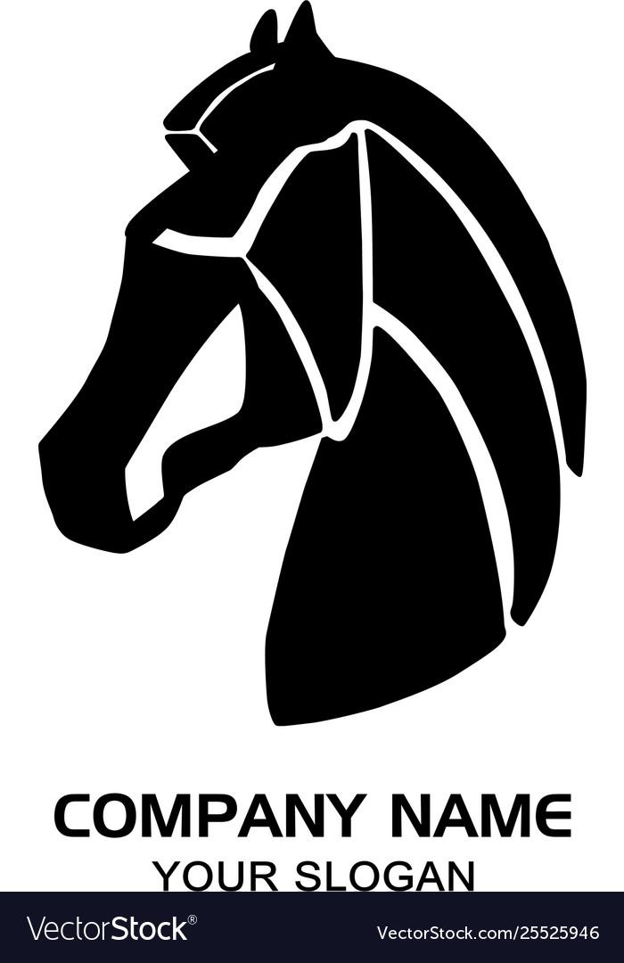 Creative Horse Logo Royalty Free Vector Image Vectorstock