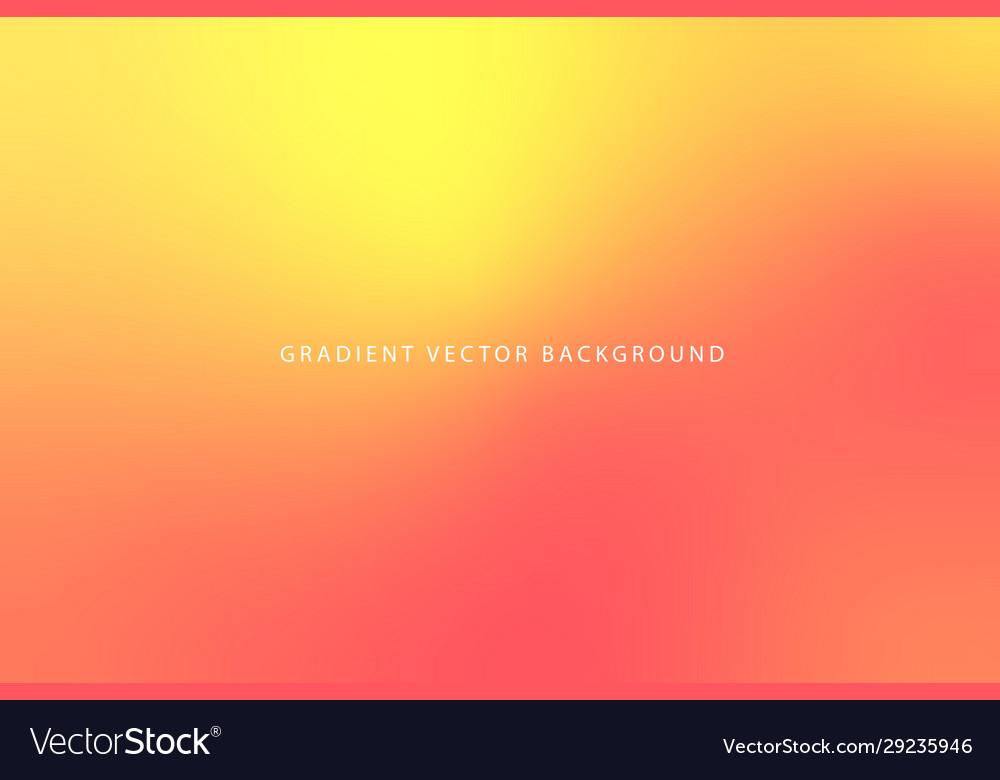 Modern orange abstract gradient background