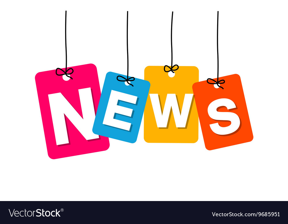 Colorful hanging cardboard Tags - news