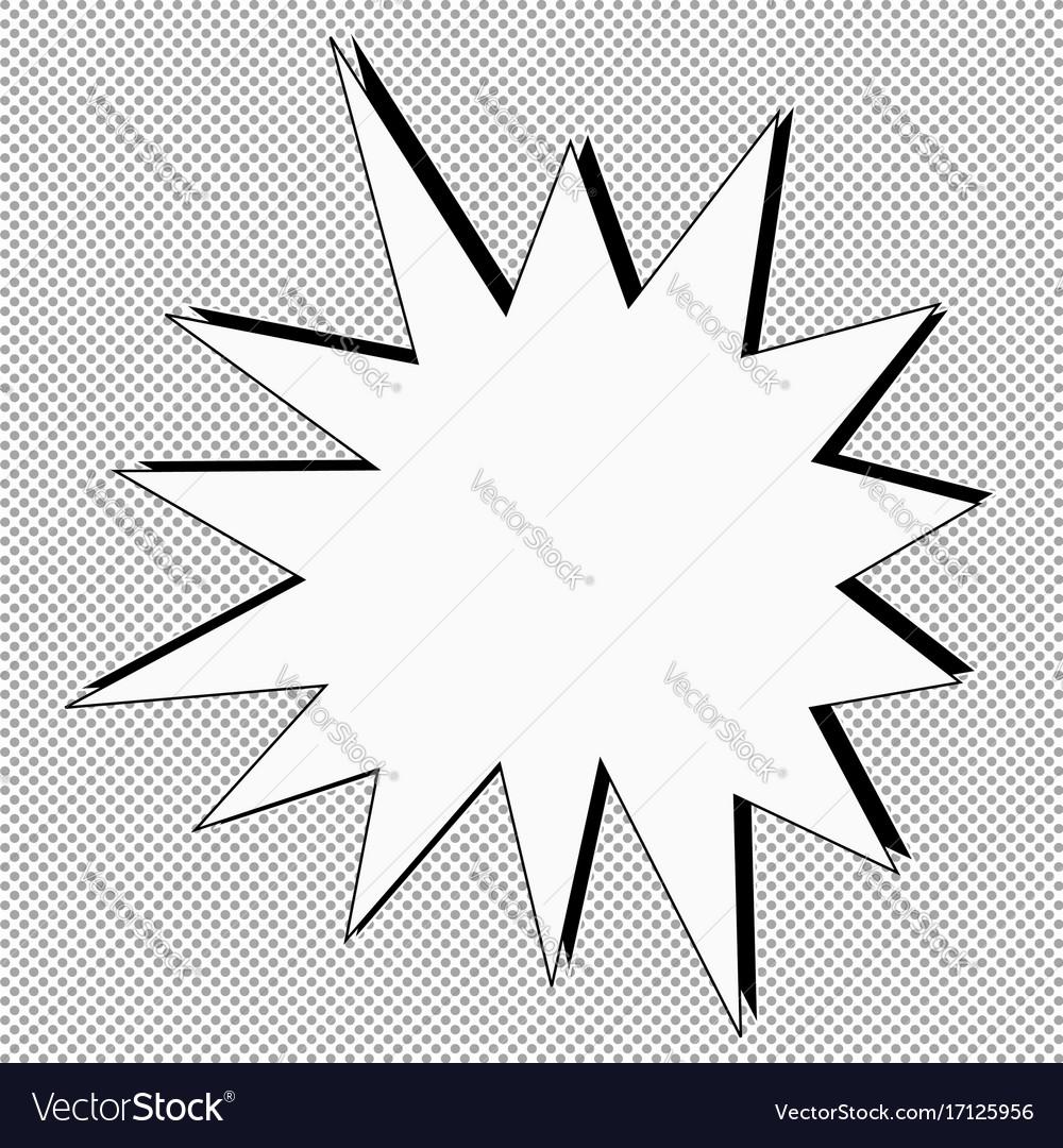 Comic vector image