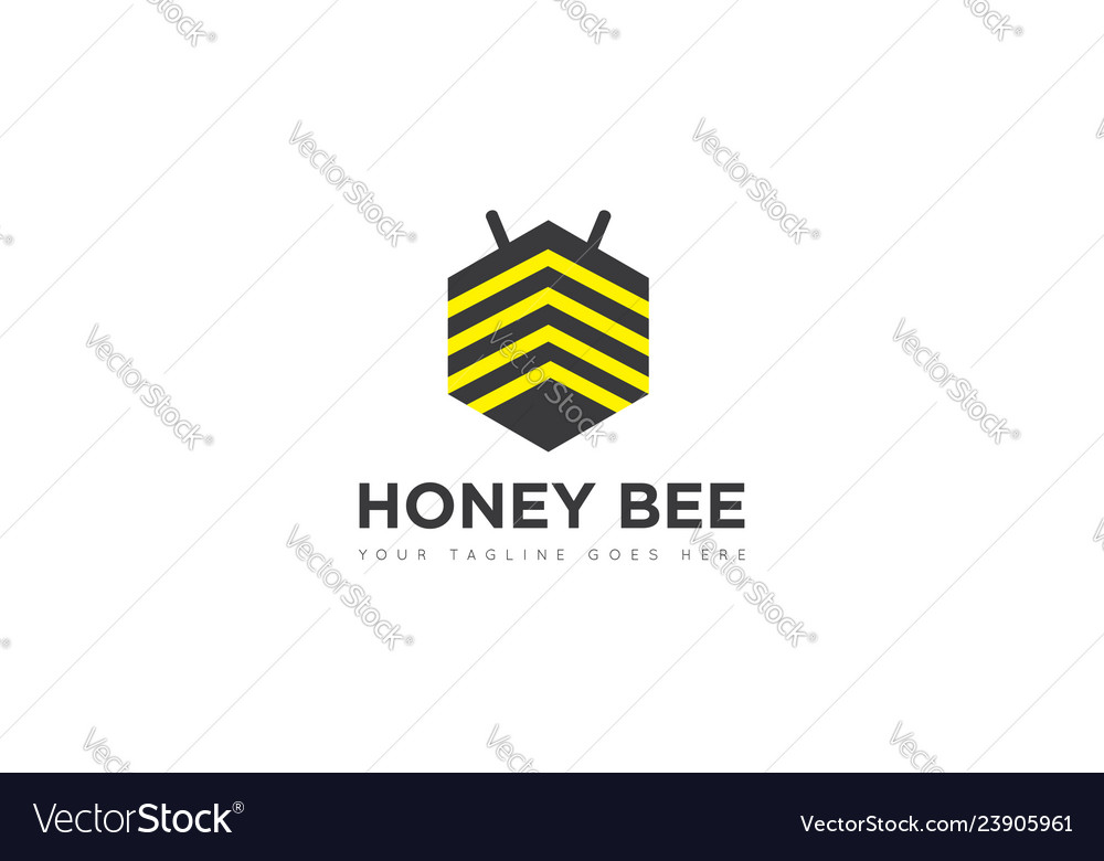 Bee logo and icon