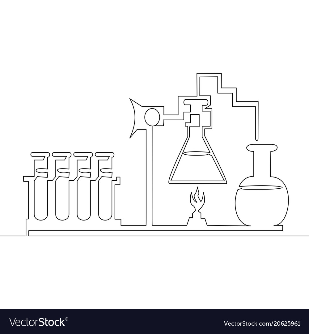 Continuous line chemical lab retorts