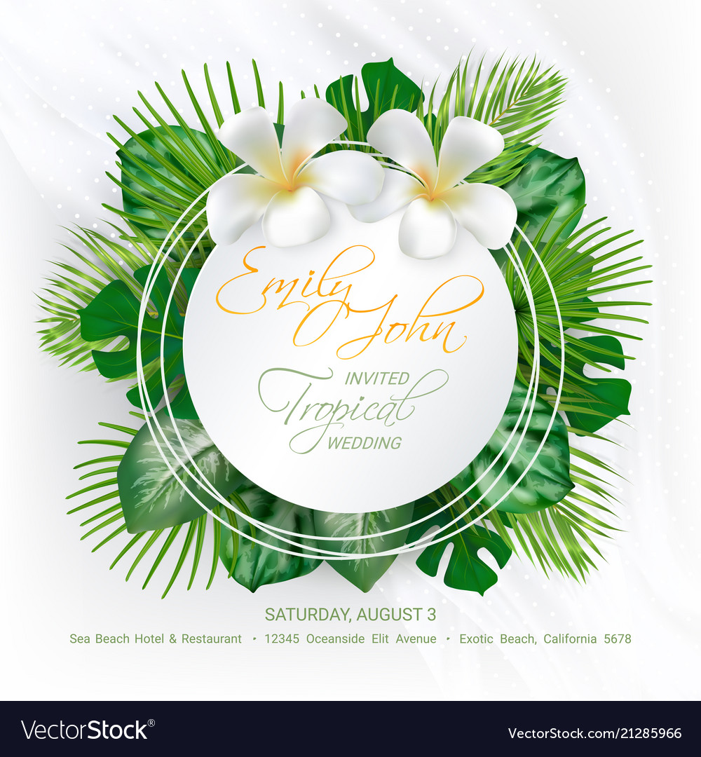 Wedding Event Invitation Card Royalty Free Vector Image