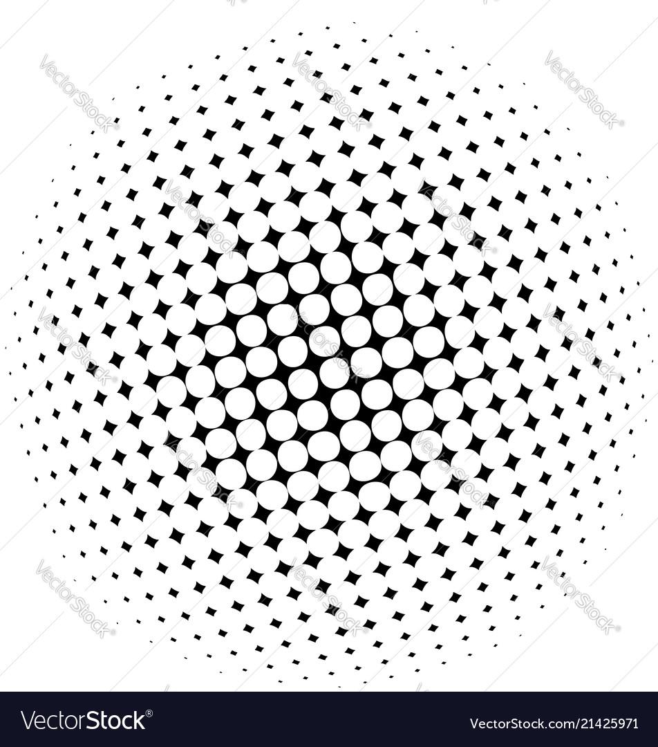 Halftone dots
