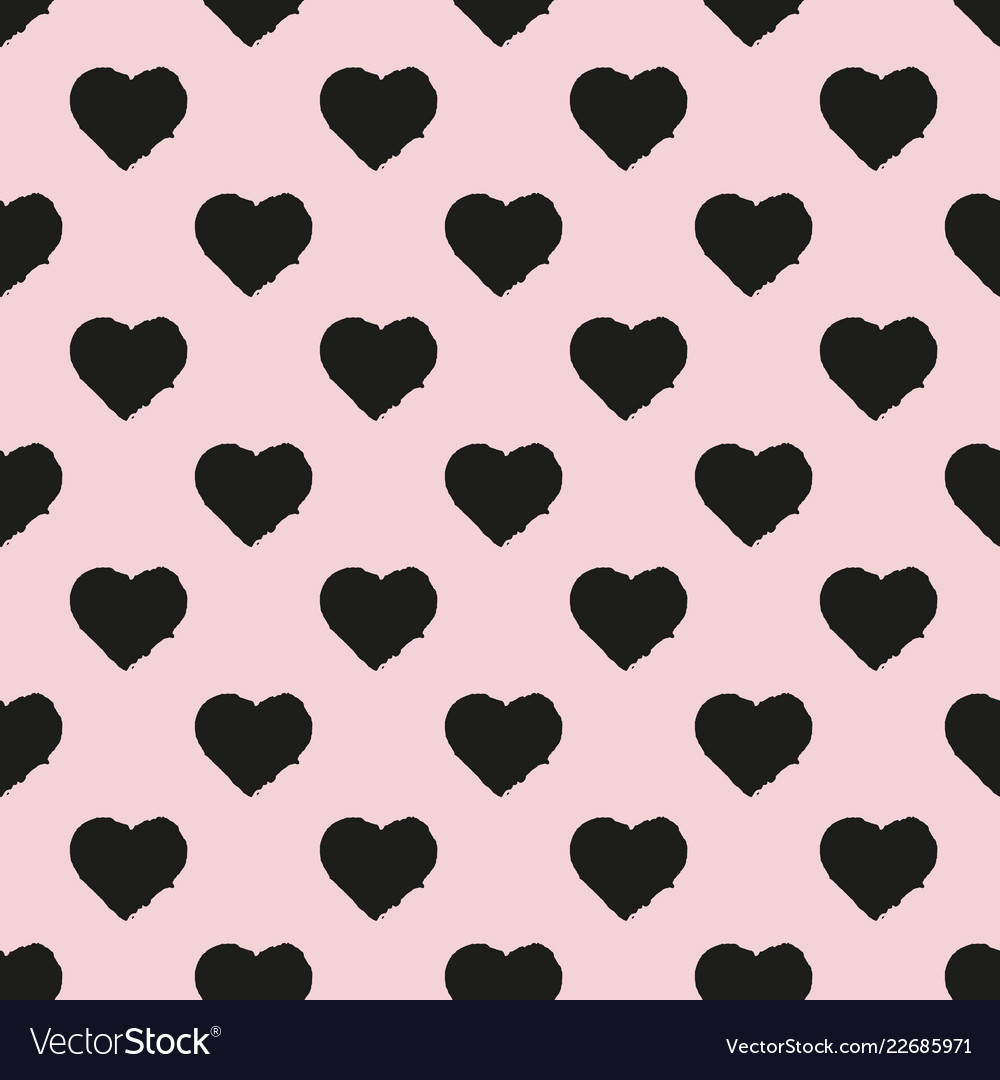 Seamless pattern of heart