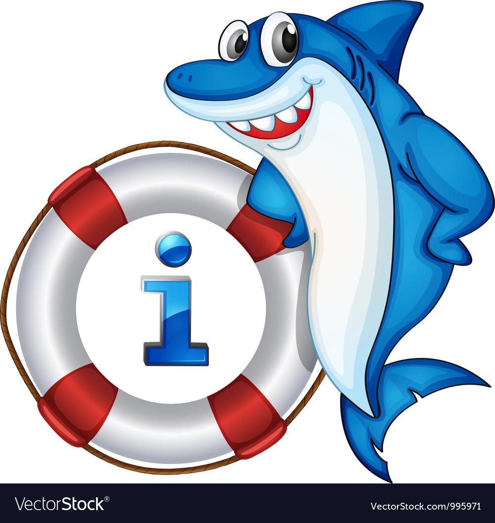 Shark Information Kiosk Sign