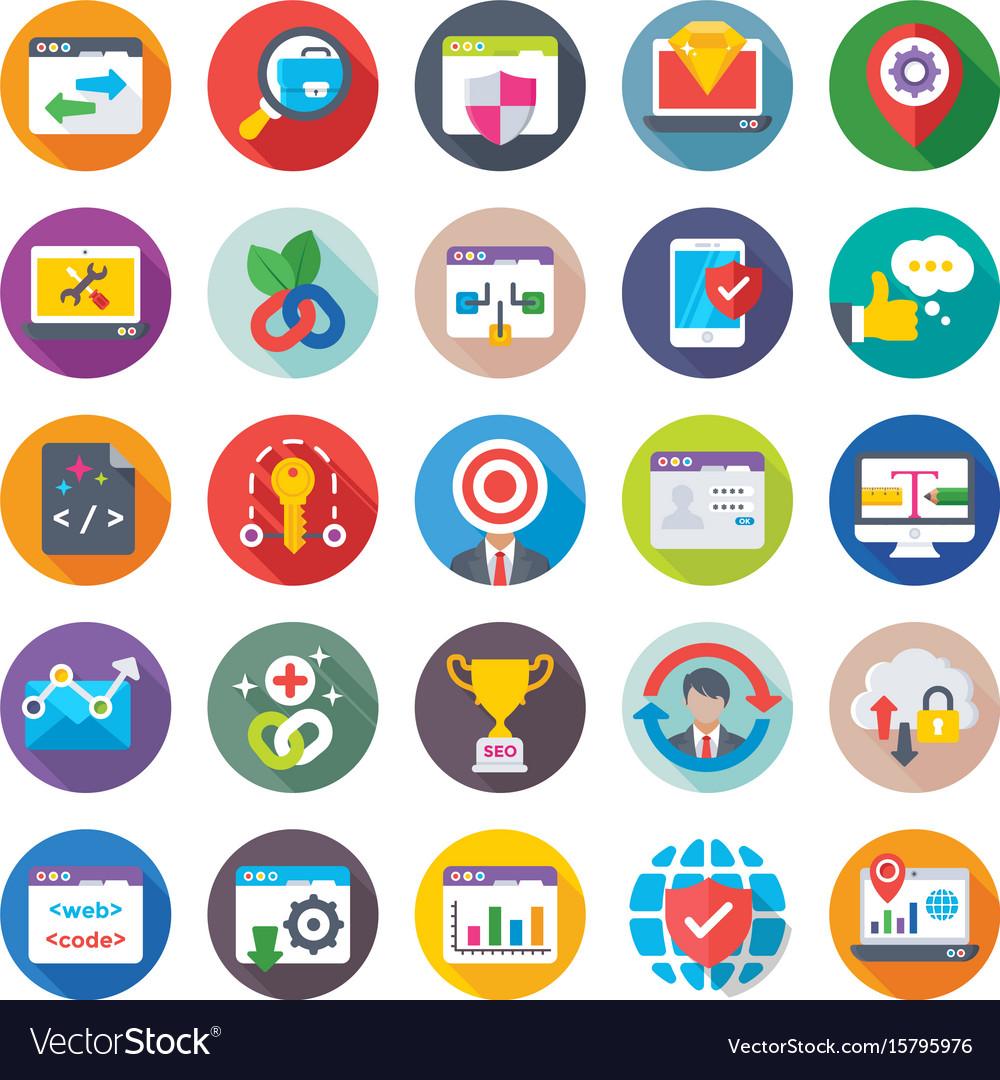 Seo and digital marketing icons 13