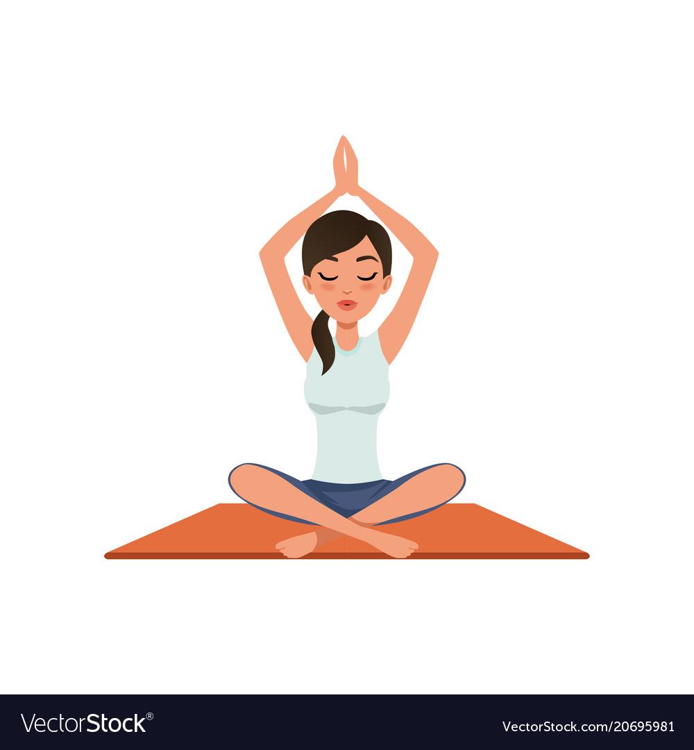 площади рисунок йога на белом фоне движение
