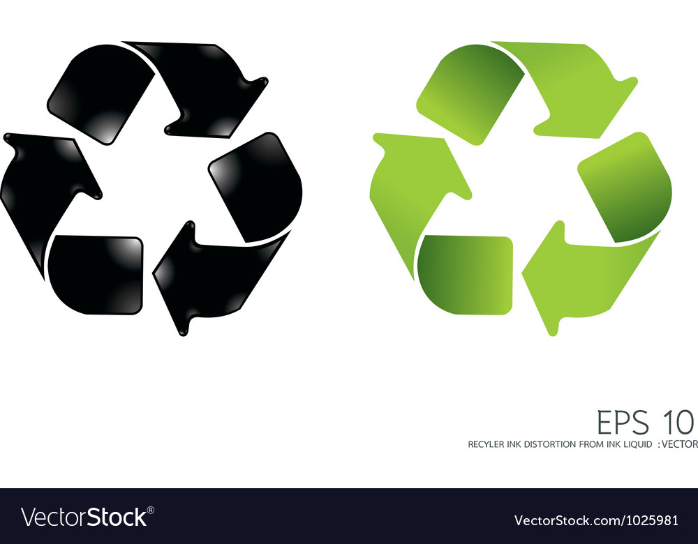 recycle icon royalty free vector image vectorstock rh vectorstock com recycle bin icon vector free download recycle icon vector