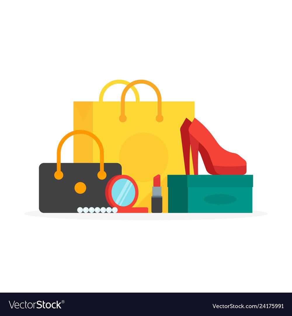 Buyings in paper bags