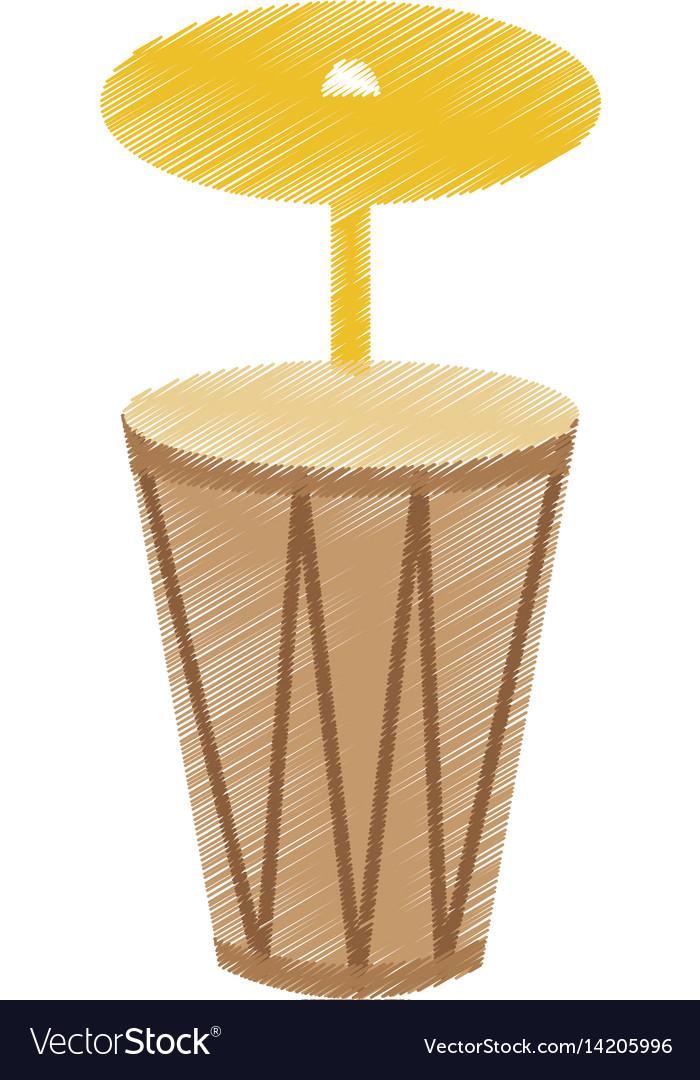 Bongo musical instrument icon