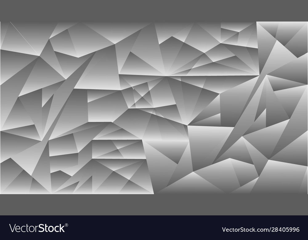 Pattern triangle gray