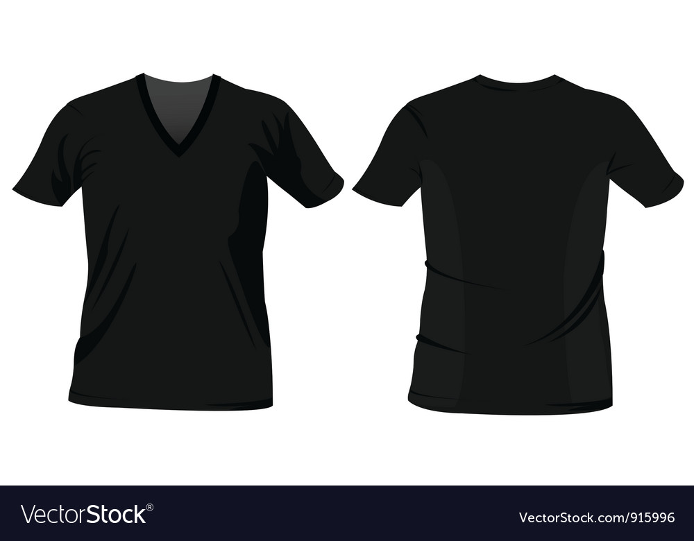 T Shirt Templates Royalty Free Vector Image Vectorstock