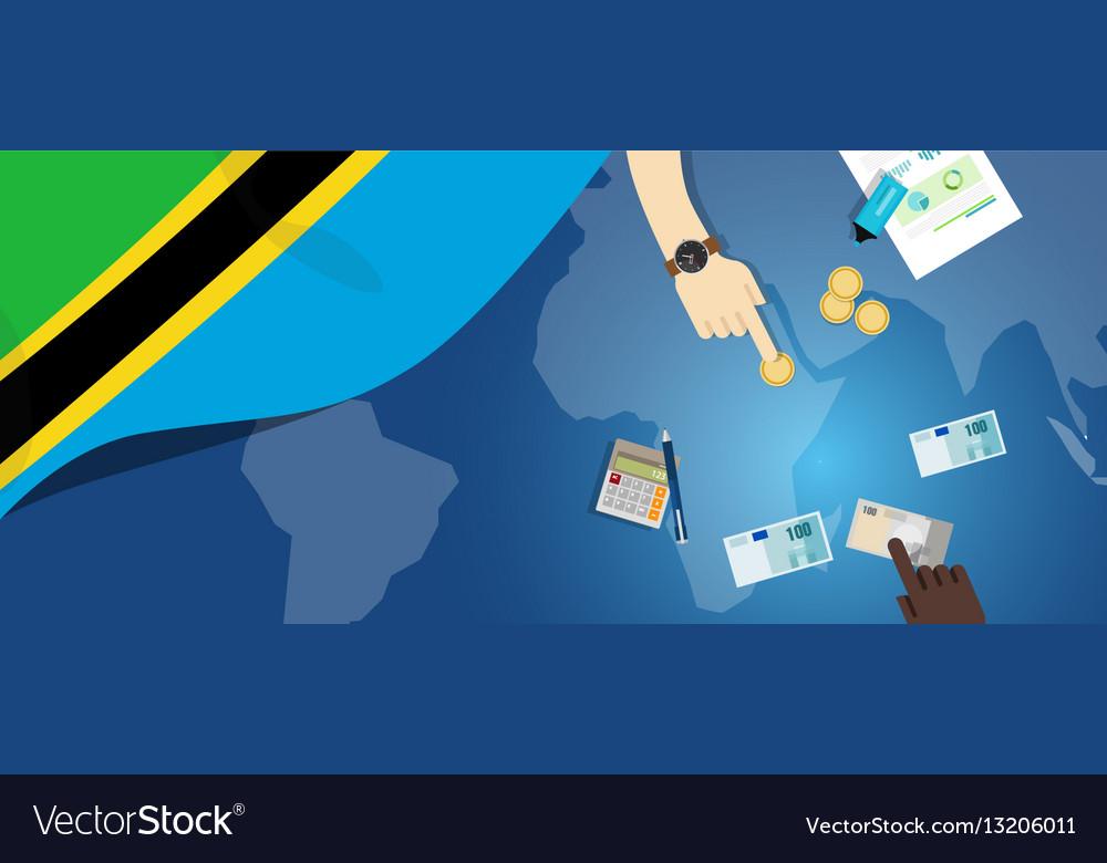 Tanzania economy fiscal money trade concept