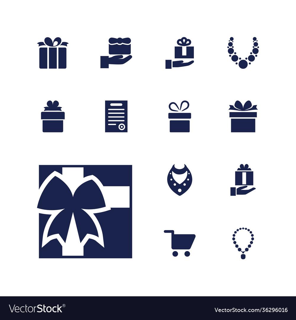 13 present icons