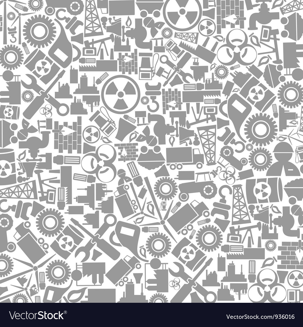 Background the industry vector image