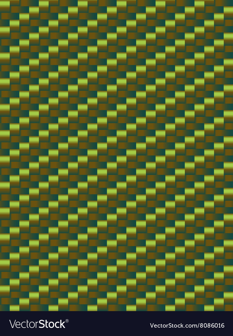 Green weave texture geometric seamless background
