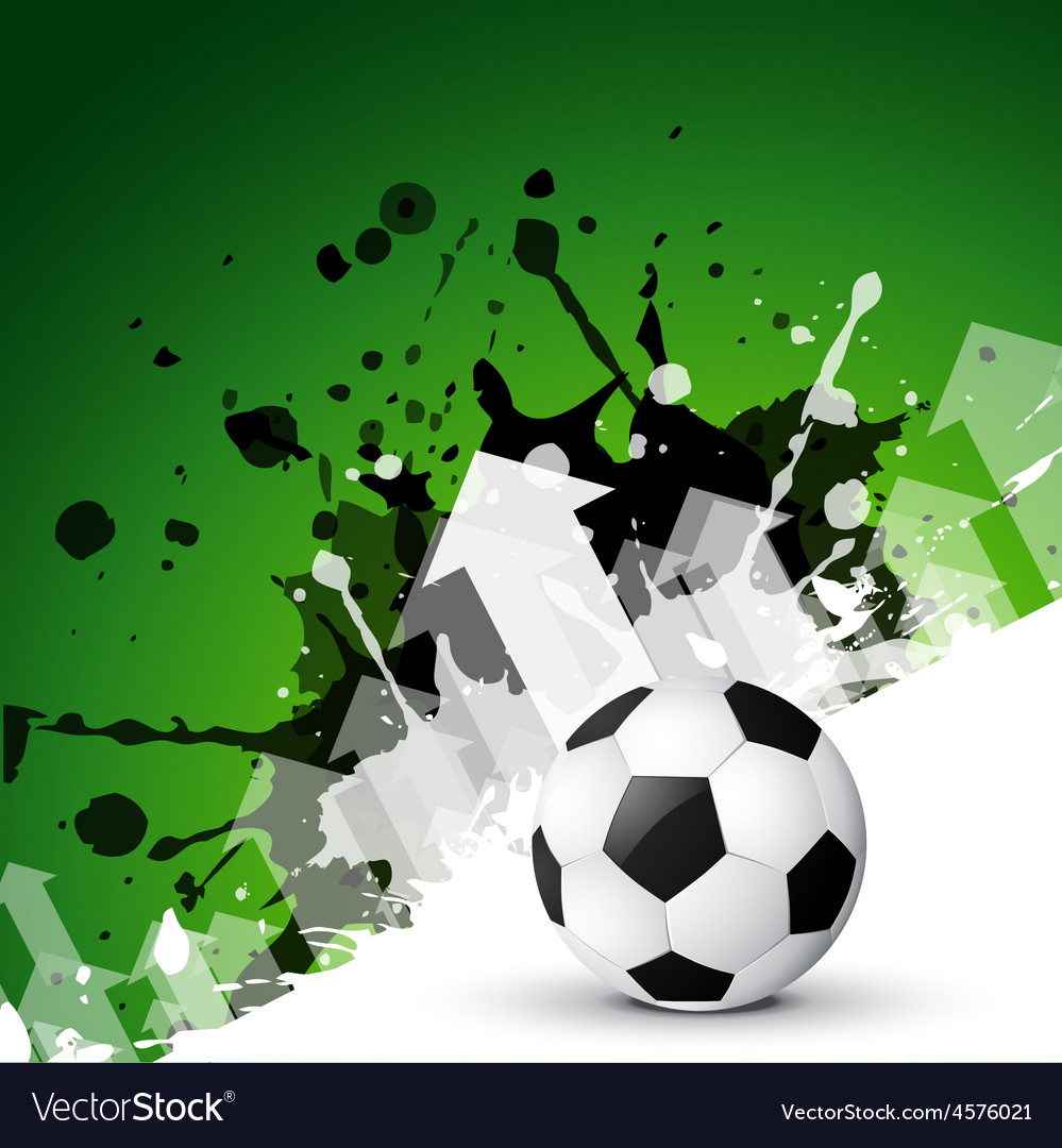 Abstract background of football
