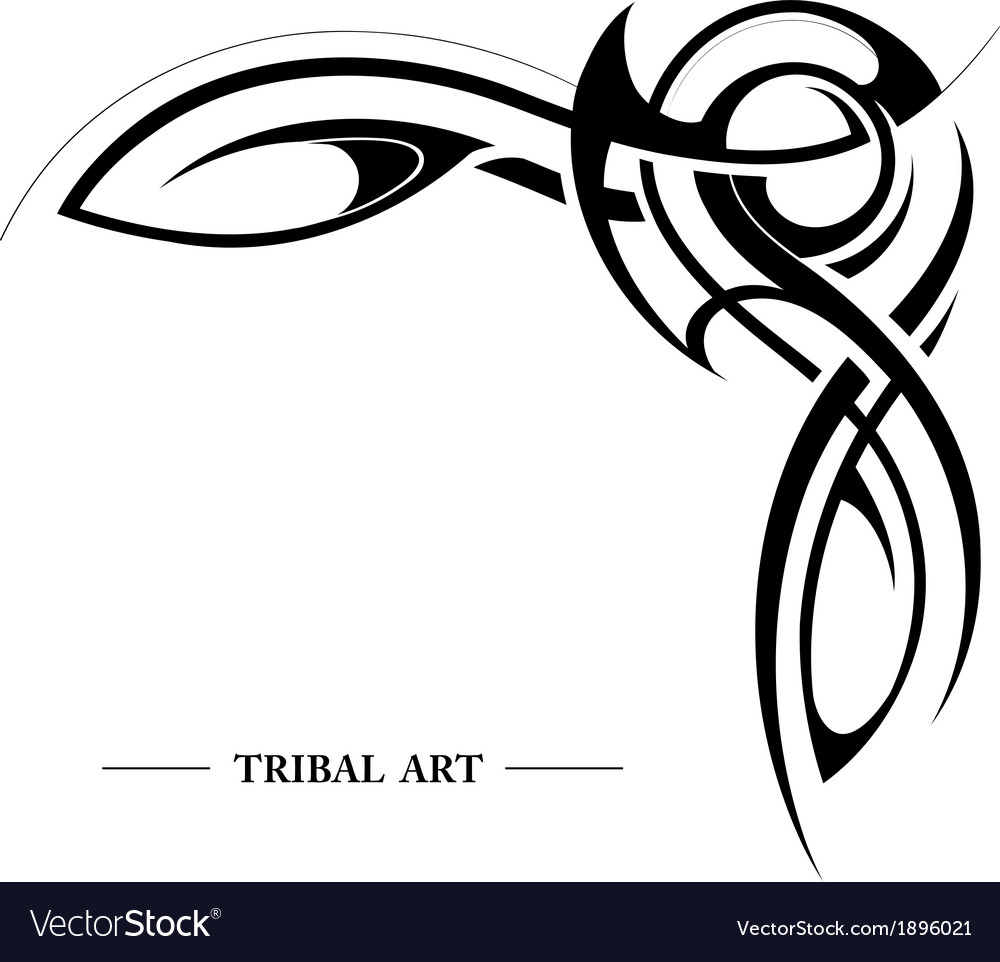 Abstract tribal background