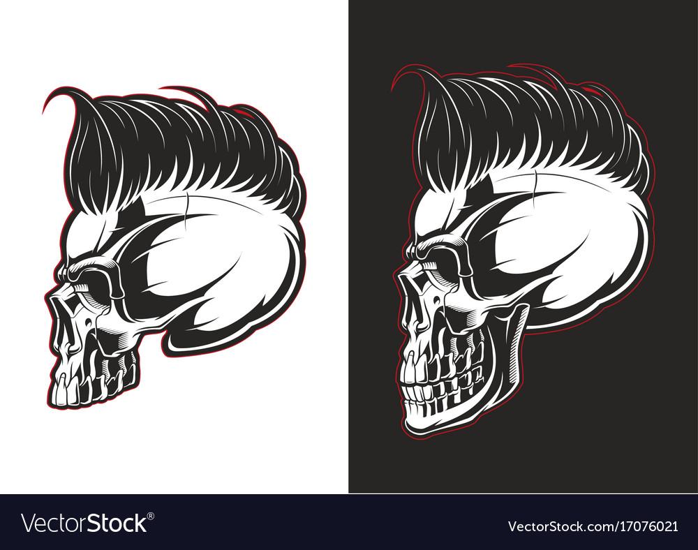 Barber skull profile