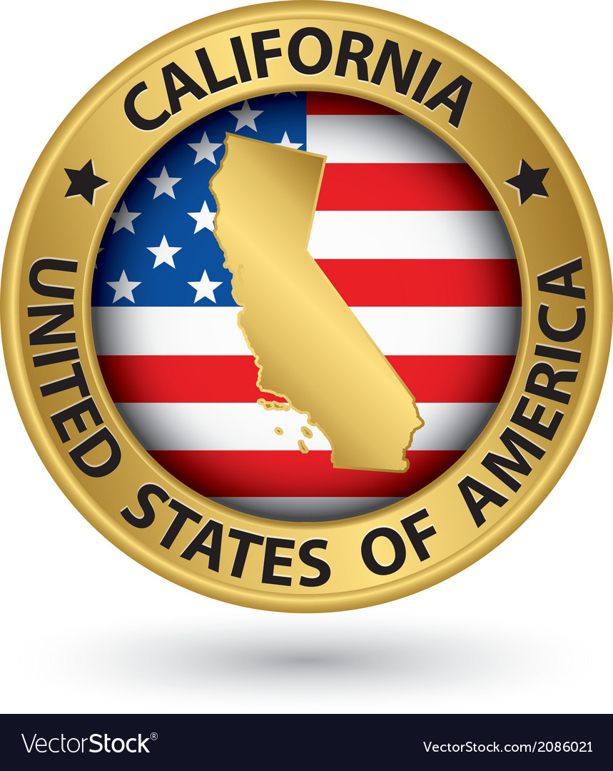 California State Flag Vector