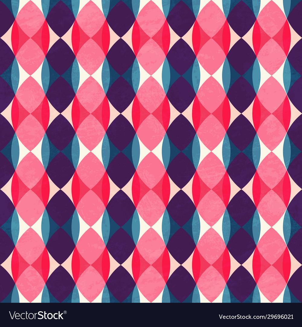 Retro mosaic pattern