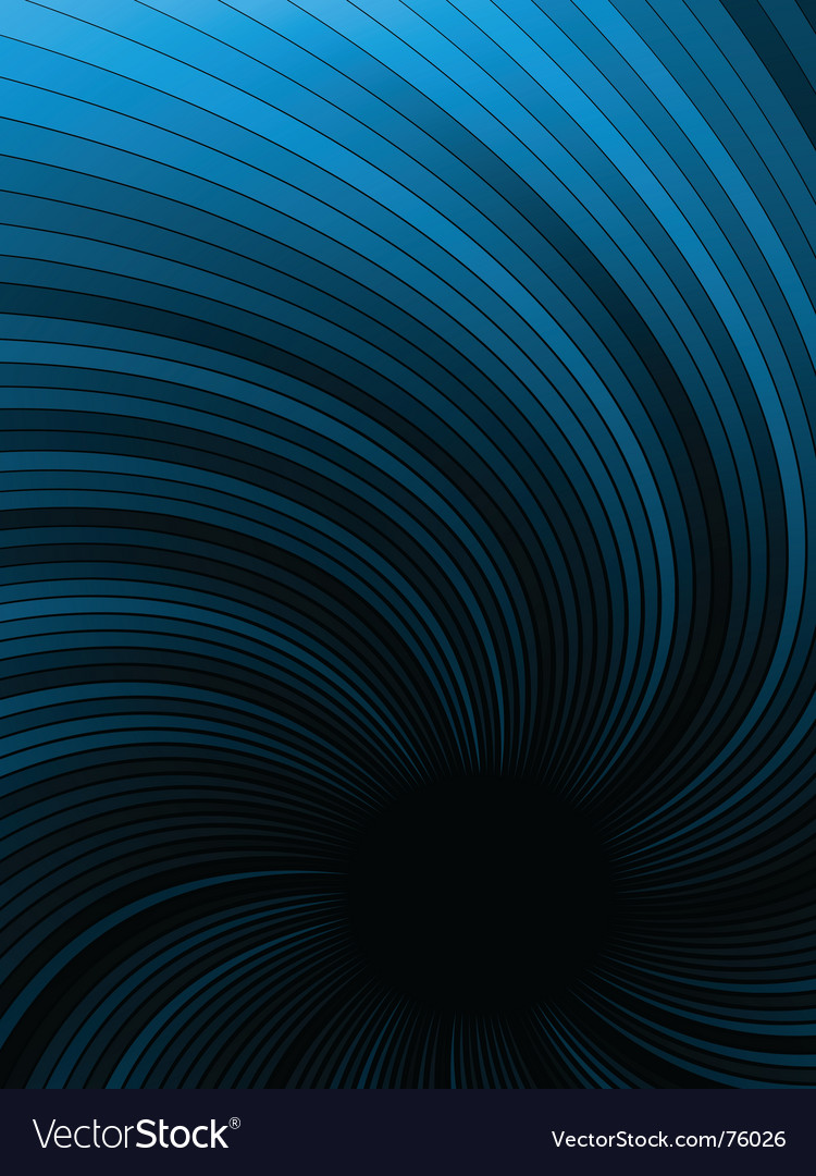 Black hole vector image