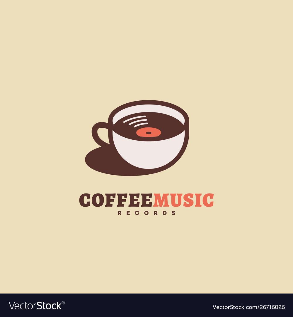 Coffee music records logo