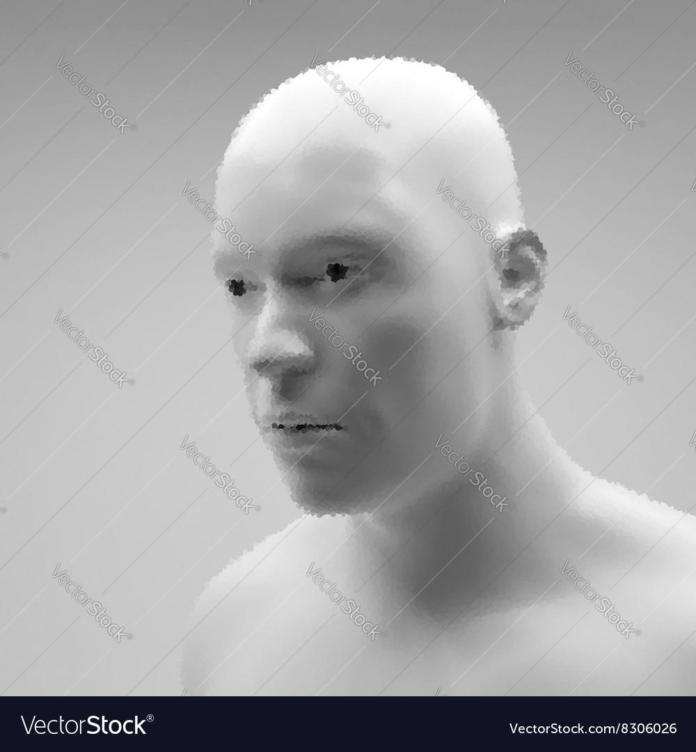 Cyborg Android Robot Realistic Humanoid