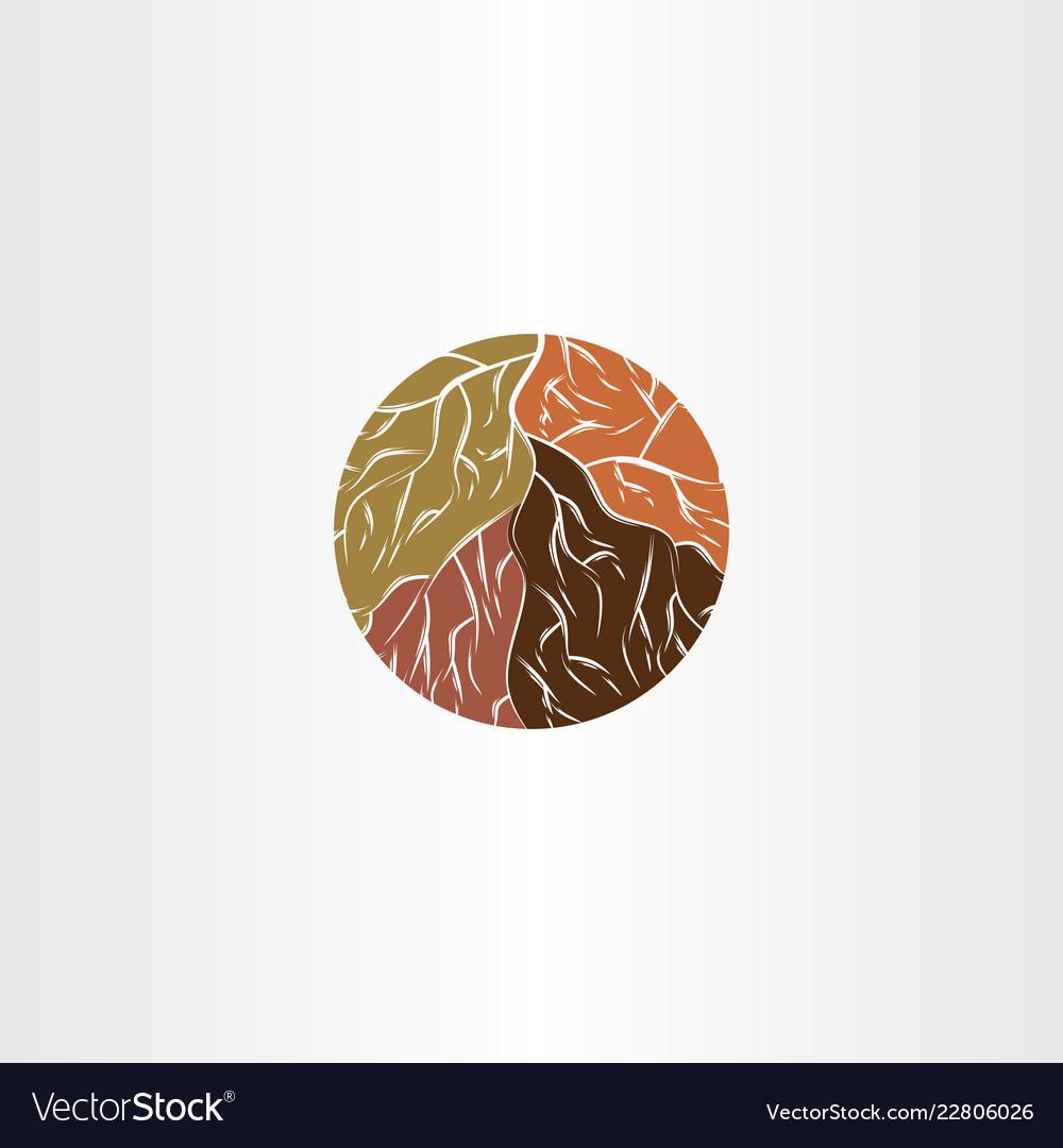 Tree root logo icon symbol