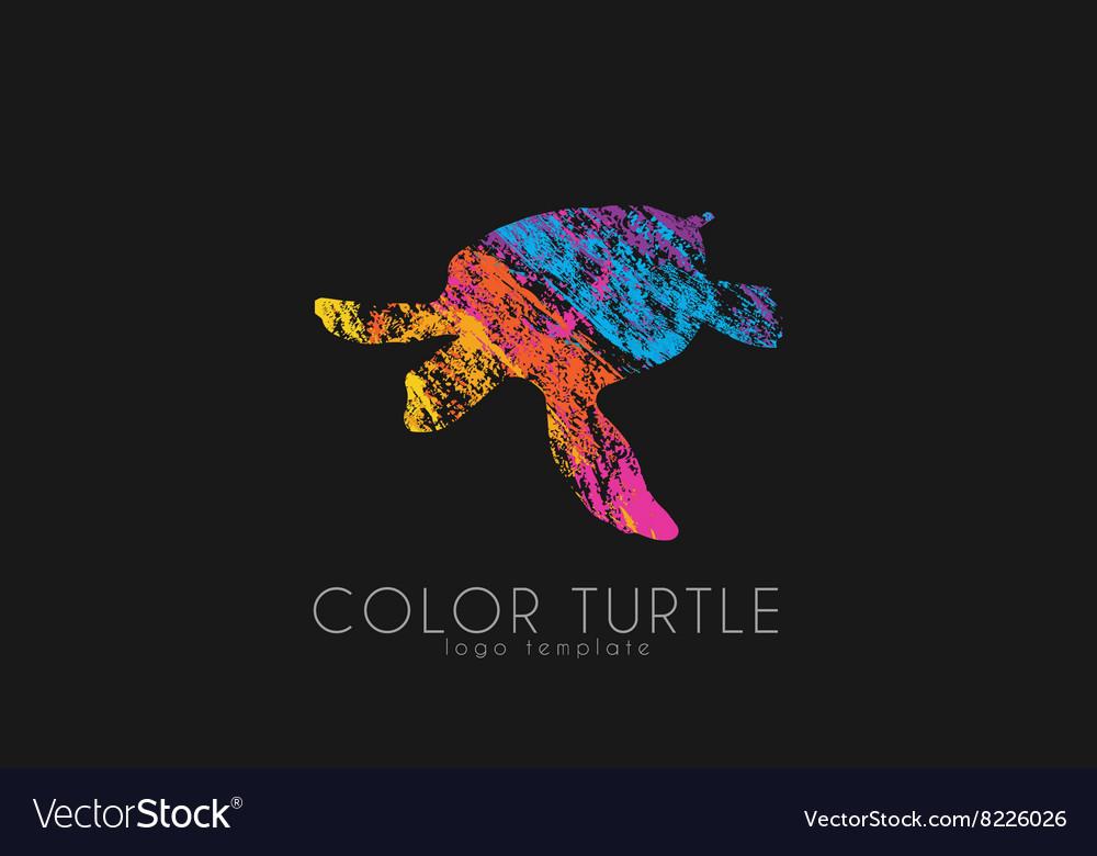 Turtle logo design Color turtle Creative logo