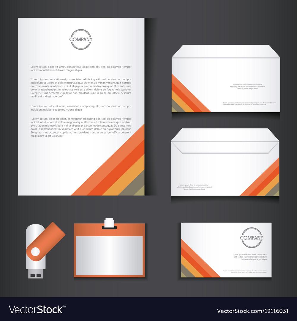 Branding identity corporate company design