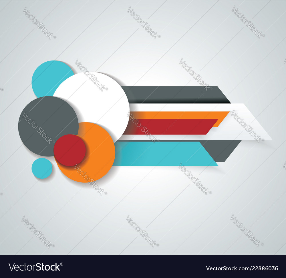 Infopanel design options banners headline template