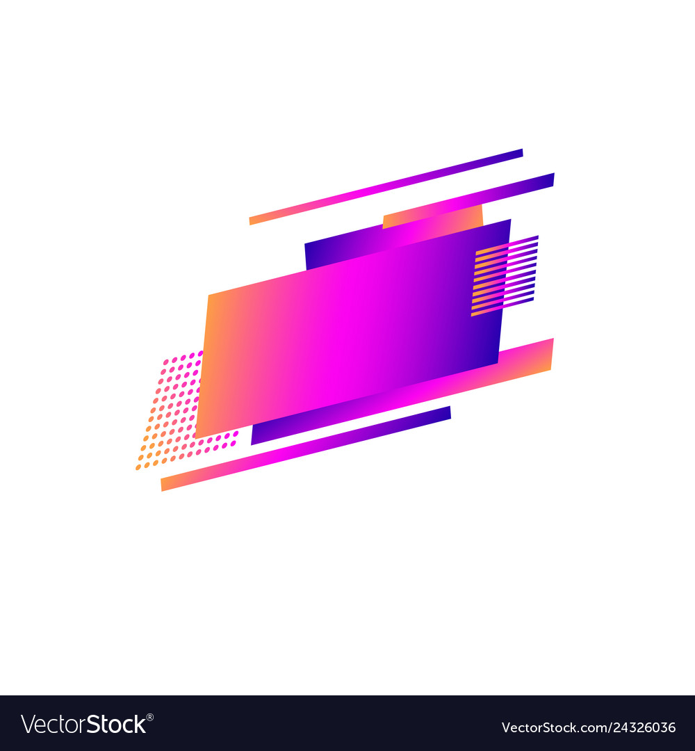 Logo design abstract geometric shapes background