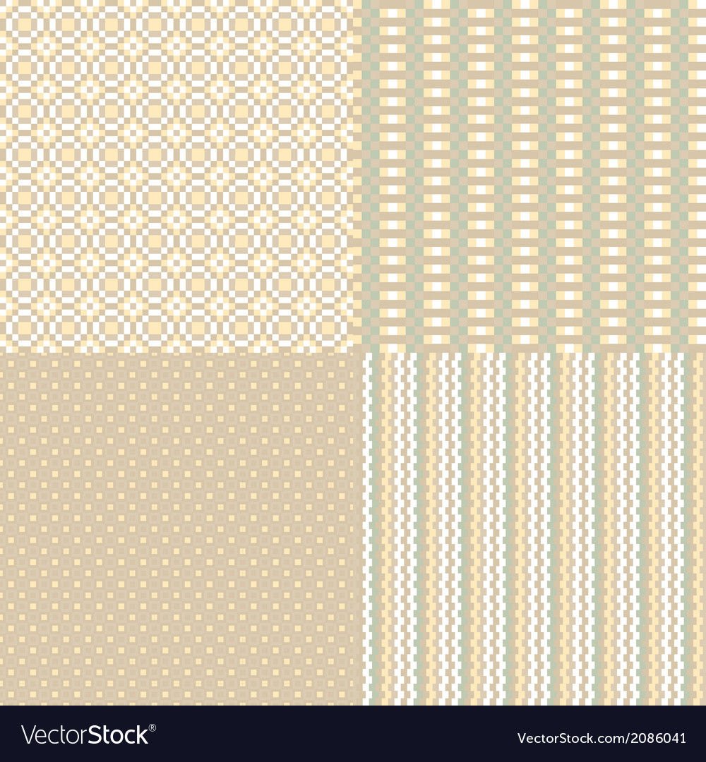 Abstract pixel neutral background vector image