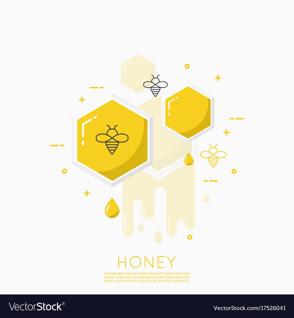 Icon honeycomb
