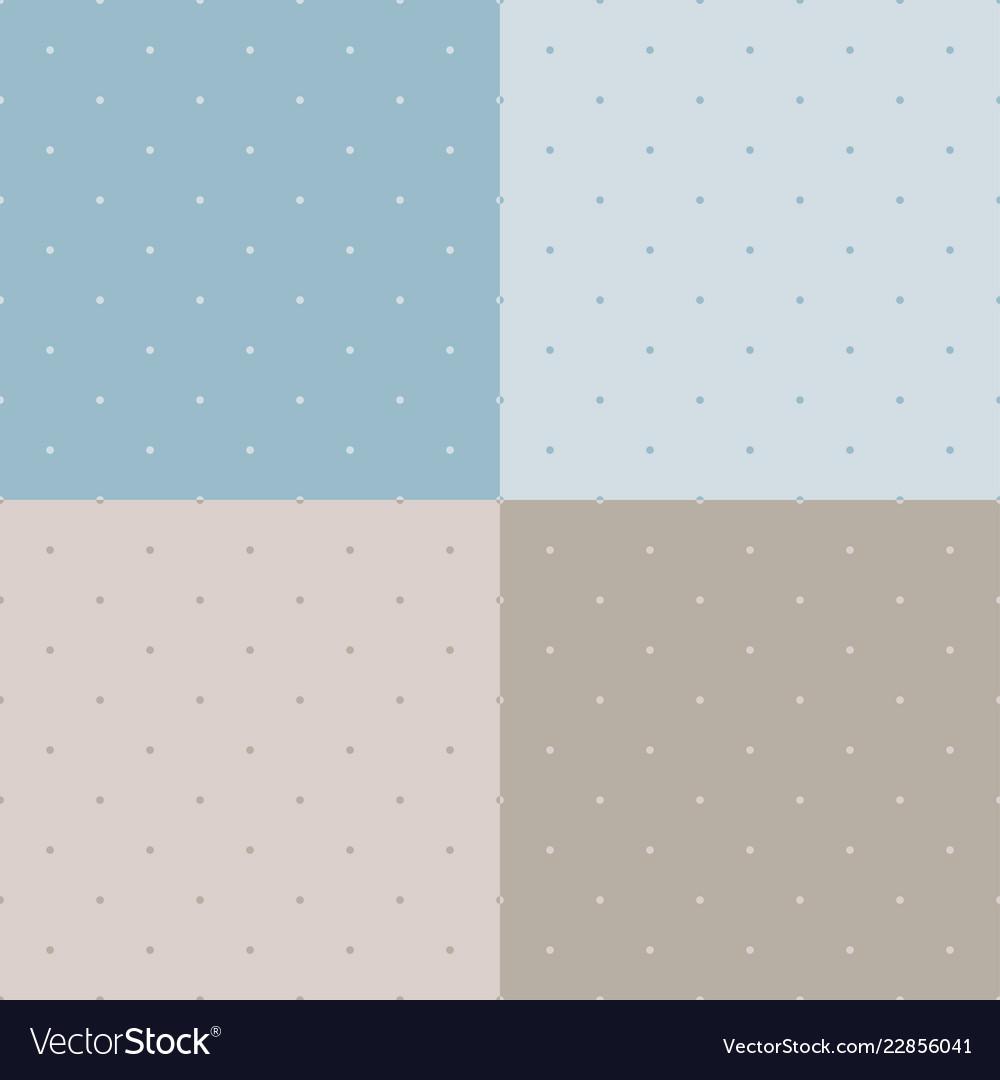 Polka seamless pattern